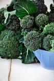brokuły, świeże Obrazy Stock