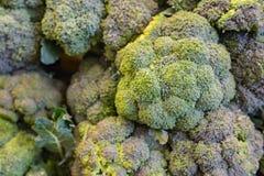 Brokuły jak widzieć na odkładającym w sklepie Fotografia Stock