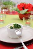 brokułów ceramiczny omletu garnka biel Obrazy Royalty Free