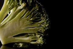 Brokułów florets Fotografia Royalty Free