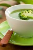 brokuły zupni Obrazy Stock