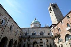 Broletto a Brescia Immagine Stock