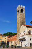 Broletto, old Town Hall of Brescia, Italy Royalty Free Stock Photo