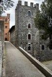 Brolio castle view Stock Image