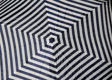 Brolly chevron pattern Royalty Free Stock Images