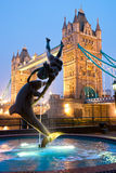 brolondon torn uk Royaltyfri Bild
