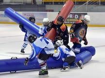 Broma del hockey Fotos de archivo