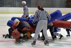 Broma del hockey Foto de archivo