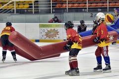 Broma del hockey Fotografía de archivo libre de regalías