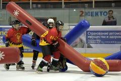 Broma del hockey Imagen de archivo