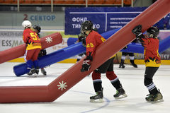 Broma del hockey Imagenes de archivo