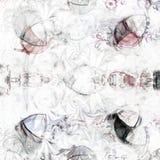 Bromas del hombre de la nieve Imágenes de archivo libres de regalías