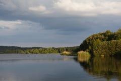 Brombach lake Royalty Free Stock Photo