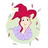 Bromista feliz Ilustración del vector Fotografía de archivo
