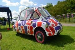 BROMLEY, LONDON/UK - CZERWIEC 07: BROMLEY widowisko automobilizm Duży jednodniowy klasyczny samochodowy przedstawienie w świacie! Zdjęcia Stock