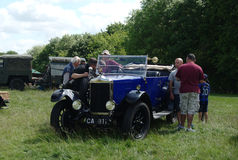 BROMLEY, LONDON/UK - CZERWIEC 07: BROMLEY widowisko automobilizm Duży jednodniowy klasyczny samochodowy przedstawienie Zdjęcie Royalty Free