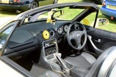 BROMLEY, LONDON/UK - 7 de junho REPRESENTAÇÃO HISTÓRICA de BROMLEY de VIAJAR DE AUTOMÓVEL A feira automóvel clássica de um dia a  Imagem de Stock Royalty Free
