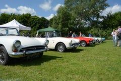 BROMLEY, LONDON/UK - 7 DE JUNHO: REPRESENTAÇÃO HISTÓRICA de BROMLEY de VIAJAR DE AUTOMÓVEL A feira automóvel clássica de um dia a Foto de Stock