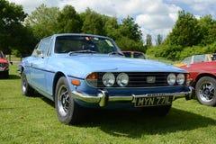 BROMLEY, LONDON/UK - 7 DE JUNIO: DESFILE de BROMLEY de VIAJAR EN AUTOMÓVILI ¡La demostración de coche clásica de un día más grand Imagenes de archivo