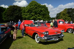 BROMLEY, LONDON/UK - JUNE 07 : BROMLEY PAGEANT of MOTORING. The biggest one-day classic car show in the world! June 07 2015 in Bro. BROMLEY PAGEANT of MOTORING Stock Image