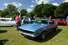 BROMLEY, LONDON/UK - JUNE 07 : BROMLEY PAGEANT of MOTORING. The biggest one-day classic car show in the world! June 07 2015 in Bro. BROMLEY PAGEANT of MOTORING Royalty Free Stock Photo