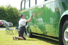 BROMLEY LONDON/UK - JUNI 07: BROMLEY-LYSANDE FESTSPEL av BILISMEN Störst en-dag den klassiska bilshowen Royaltyfria Bilder