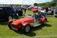 BROMLEY LONDON/UK - JUNI 07 BROMLEY LYSANDE FESTSPEL av BILISMEN Störst en-dag den klassiska bilshowen i världen! Arkivbild