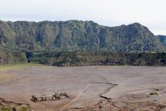 bromo东部印度尼西亚Java luhur挂接poten pura寺庙火山 布罗莫火山火山 免版税图库摄影
