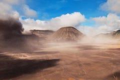 bromo印度尼西亚火山 免版税库存照片