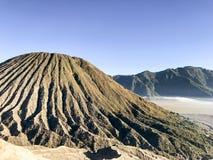 Bromo国家公园, Probolinggo,东爪哇省,印度尼西亚 免版税图库摄影