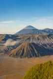 Bromo山早晨 免版税图库摄影