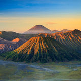 Bromo火山山 库存图片