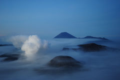 bromo火山 库存图片