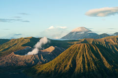 bromo火山 库存照片