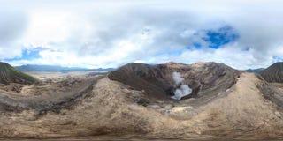 Bromo火山 免版税库存图片