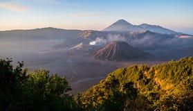 bromo вулкан Стоковое Изображение