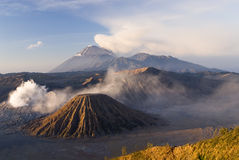 Bromo. Images of Bromo National Park, Java, Indonesia stock image