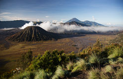Bromo, an active volcano in west Java island, Indonesia Stock Photography