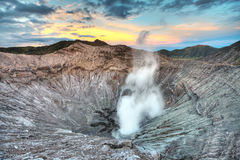 Bromo crater stock images
