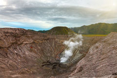 Bromo crater royalty free stock photo