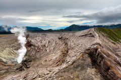 Bromo crater Stock Image