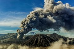 Bromo de bâti, probolinggo, Java-Orientale, jndonesia photo stock