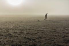 Bromo desert east java , indonesia Royalty Free Stock Image