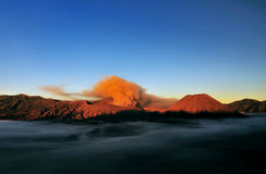 Bromo After Eruption Royalty Free Stock Photography