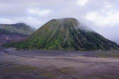 Bromo grande Indonésia da montanha Foto de Stock Royalty Free