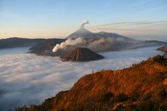 Bromo Indonesië Stock Foto's