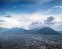 Bromo losbarstende vulkaan Oost-Java, Indonesië Royalty-vrije Stock Fotografie