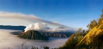 Bromo in the morning Royalty Free Stock Images