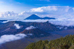 Bromo mount early morning Royalty Free Stock Images
