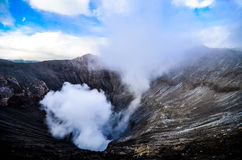 Bromo Mount. Bromo Indonesia in the morning Stock Photo